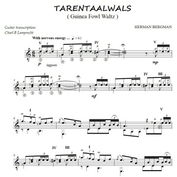 Tarentaalwals cover
